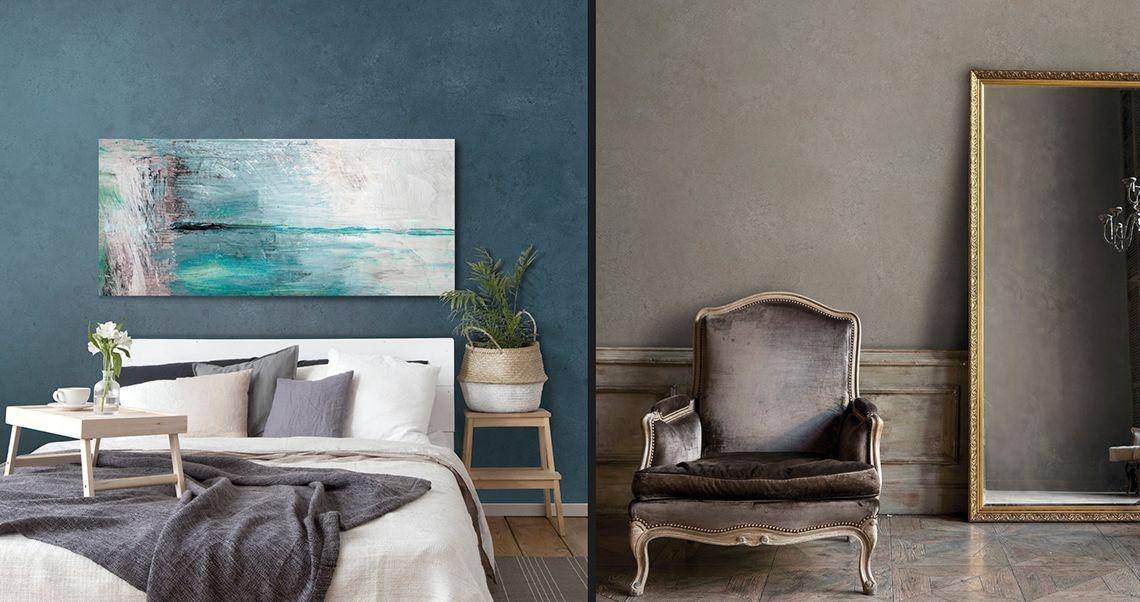Pittura Per Interni Moderne.Pitture Moderne Per Interni Come Dipingere Casa Con Nuove Tinte Da Parete